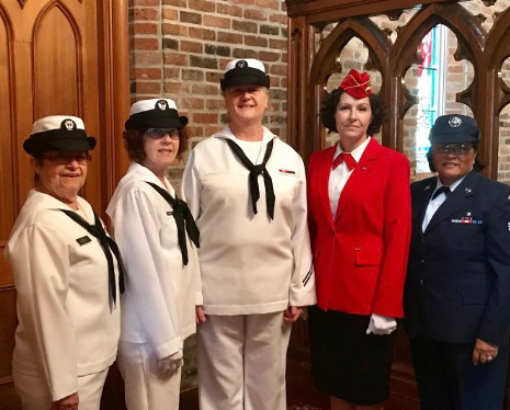 "We are Louisiana Women Veterans and we are comprised of female veterans representing the Army, Navy, Marines, Air Force and Coast Guard. We are from all ranks…. brigadier general to private. We have women who have served in WWII, Korean Conflict, Vietnam War, Desert Storm, etc.  Our mission is to stand as ""Honor Guard Details"" at any woman veterans funeral across the State of Louisiana. We read a poem honoring that veterans service and present a copy of it in a beautiful frame to each of the immediate family members. Then we render the ""Final Salute"" from Louisiana Women Veterans. If the military is not present…then we become the official Honor Guard Detail, we do the folding of the flag, presentation of the flag and blowing ""Taps""."