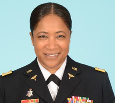 Alexandria, LA native Katrina Lloyd made history when she became the second African American woman to be promoted to the rank of colonel by the Louisiana Army National Guard on April 12, 2019. Colonel Lloyd also broke new ground when she became the Battalion Commander for the Louisiana Medical Detachment while still serving as the full-time Deputy State Surgeon in addition to the full-time Administrative Officer, LA Medical Detachment.  Colonel Lloyd fulfilled the duties and responsibilities as the Deputy State Surgeon from 2013-2018 prior to being appointed as the State Surgeon for the Louisiana Army National Guard.   COL Lloyd is the 1st African American and 1st Woman to hold any of the positions.  She is the 1st Soldier appointed to simultaneously hold them all.  July 26, 2019 Lloyd is set to graduate with a Master of Strategic Studies from the U.S. Army War College, Carlisle Barracks, PA.