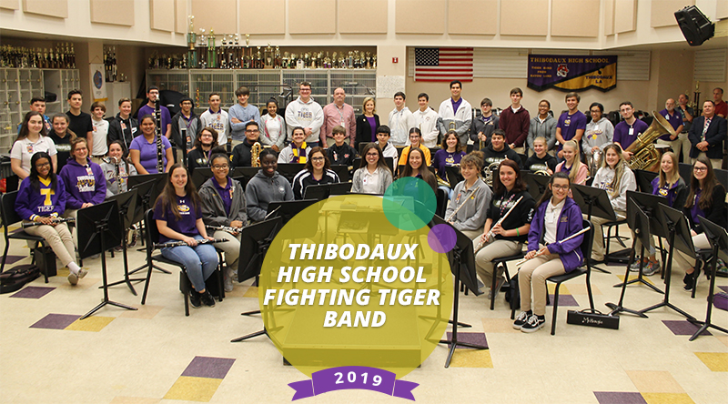 Teach MAM – Thibodaux High School Fighting Tiger Band