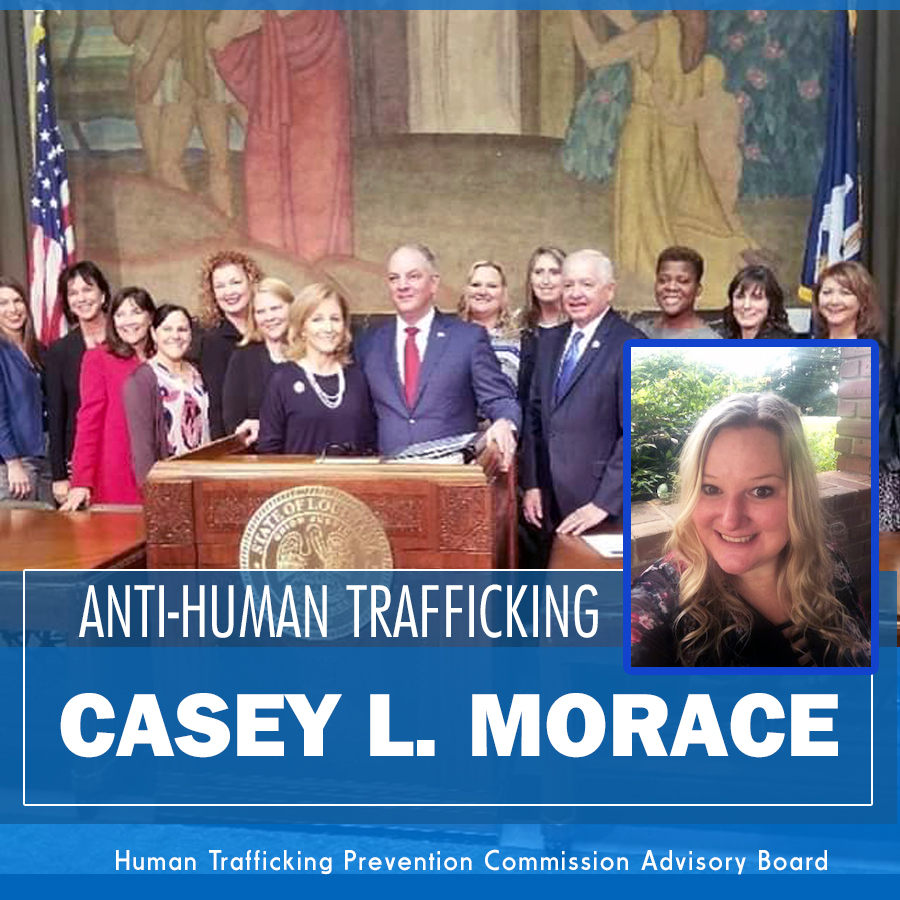 Anti-Human Trafficking – Casey L. Morace