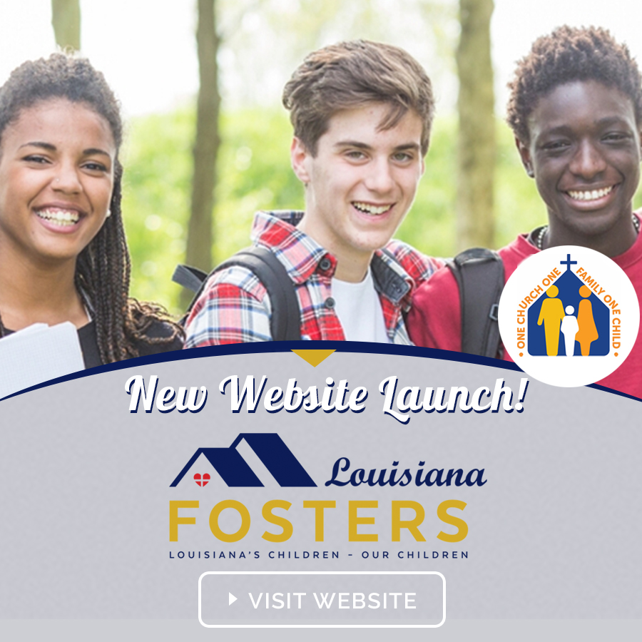 Louisiana Fosters – Website Launch