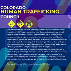 Colorado Human Trafficking Council