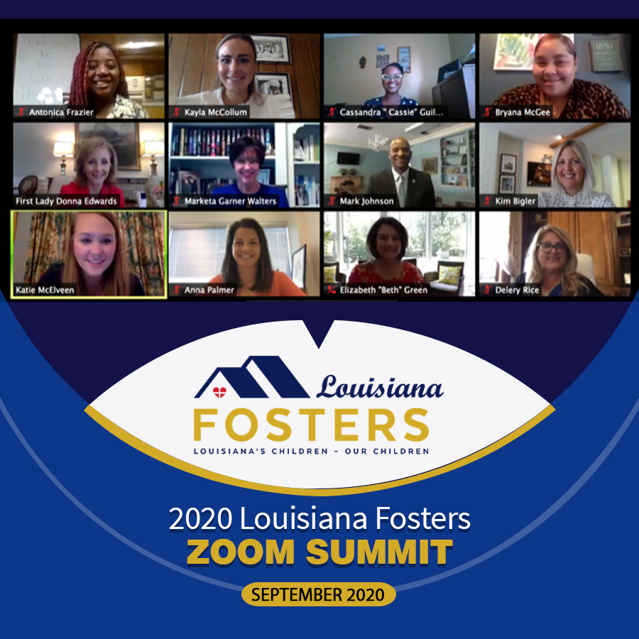 Louisiana Fosters – Zoom Summit 2020