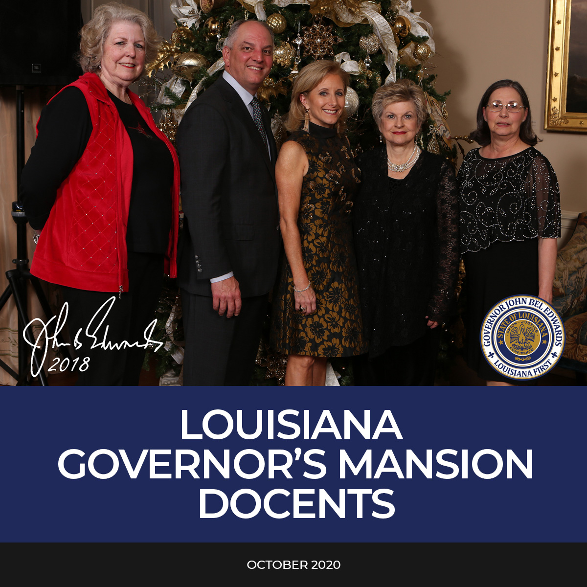 Louisiana Governor's Mansion Docents