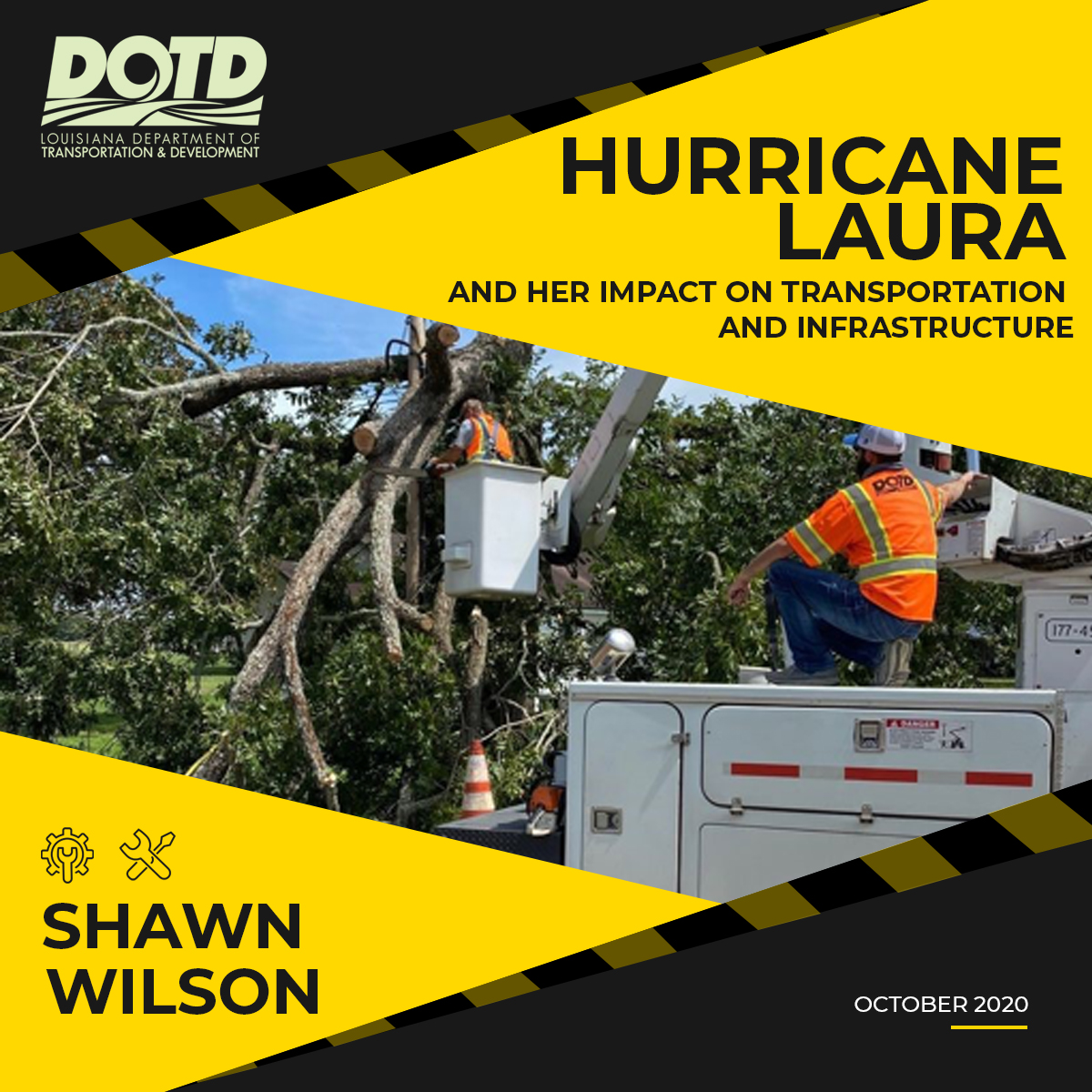 Hurricane Laura and Her Impact on Transportation and Infrastructure