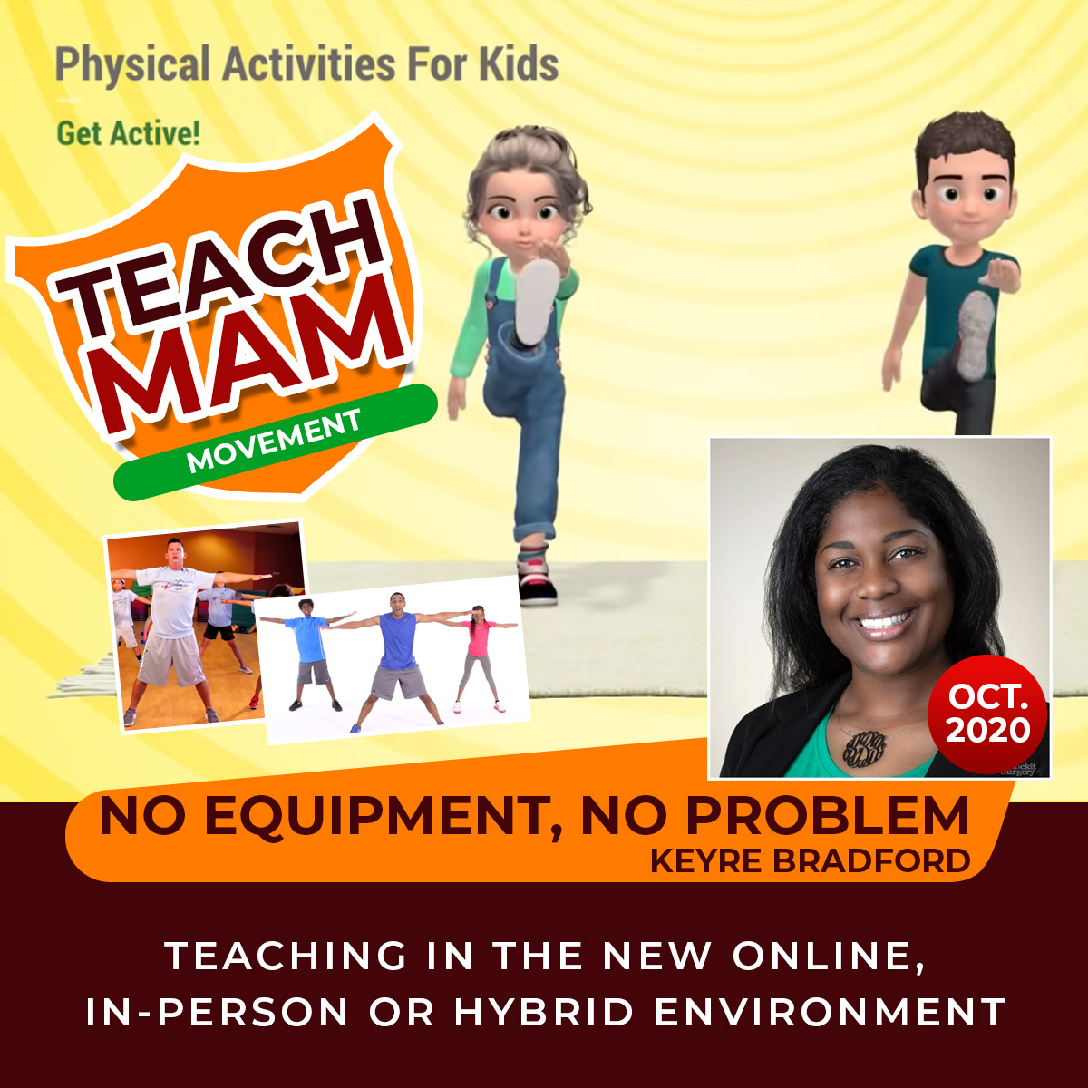 Teach MAM – No Equipment, No Problem