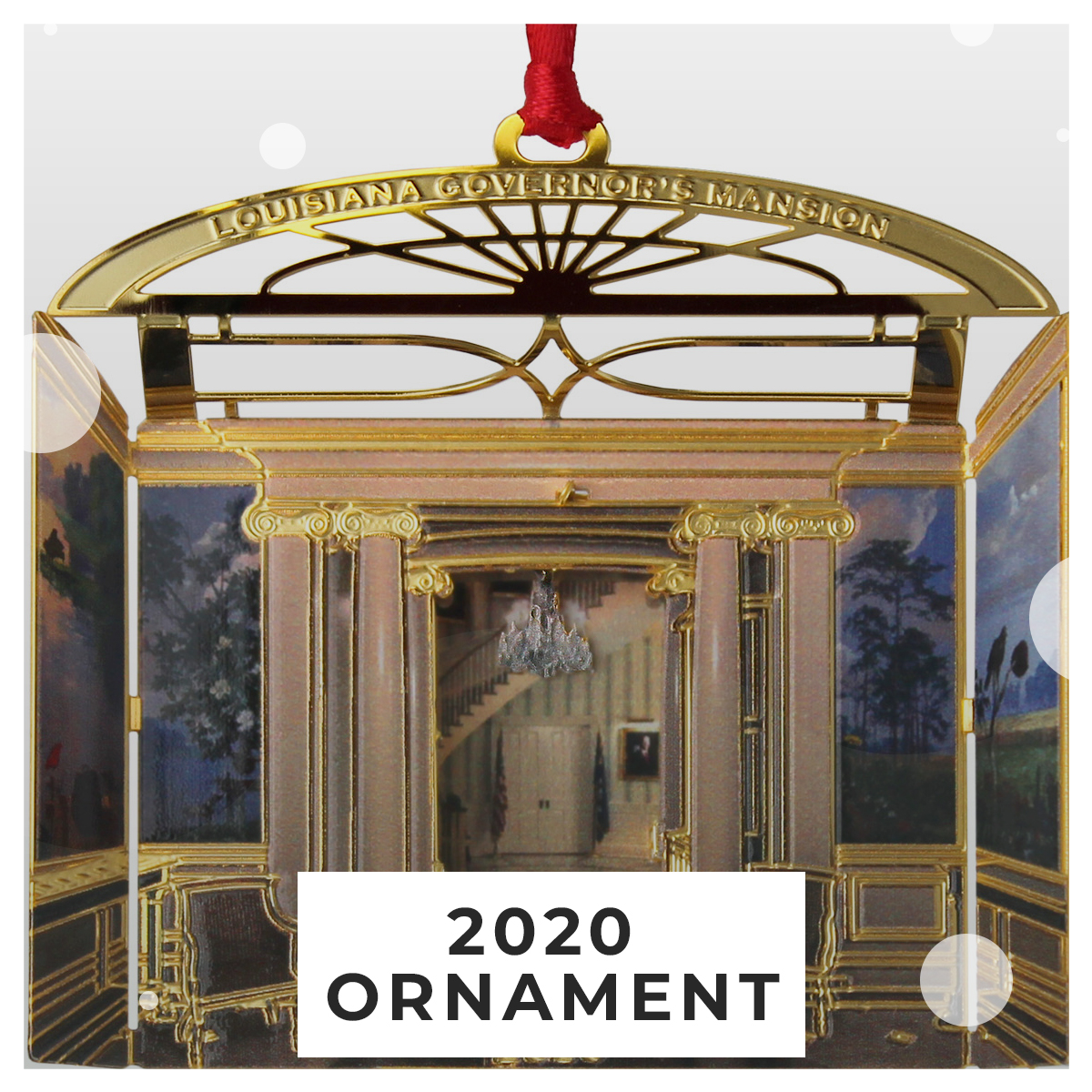 Governor's Mansion Ornament 2020