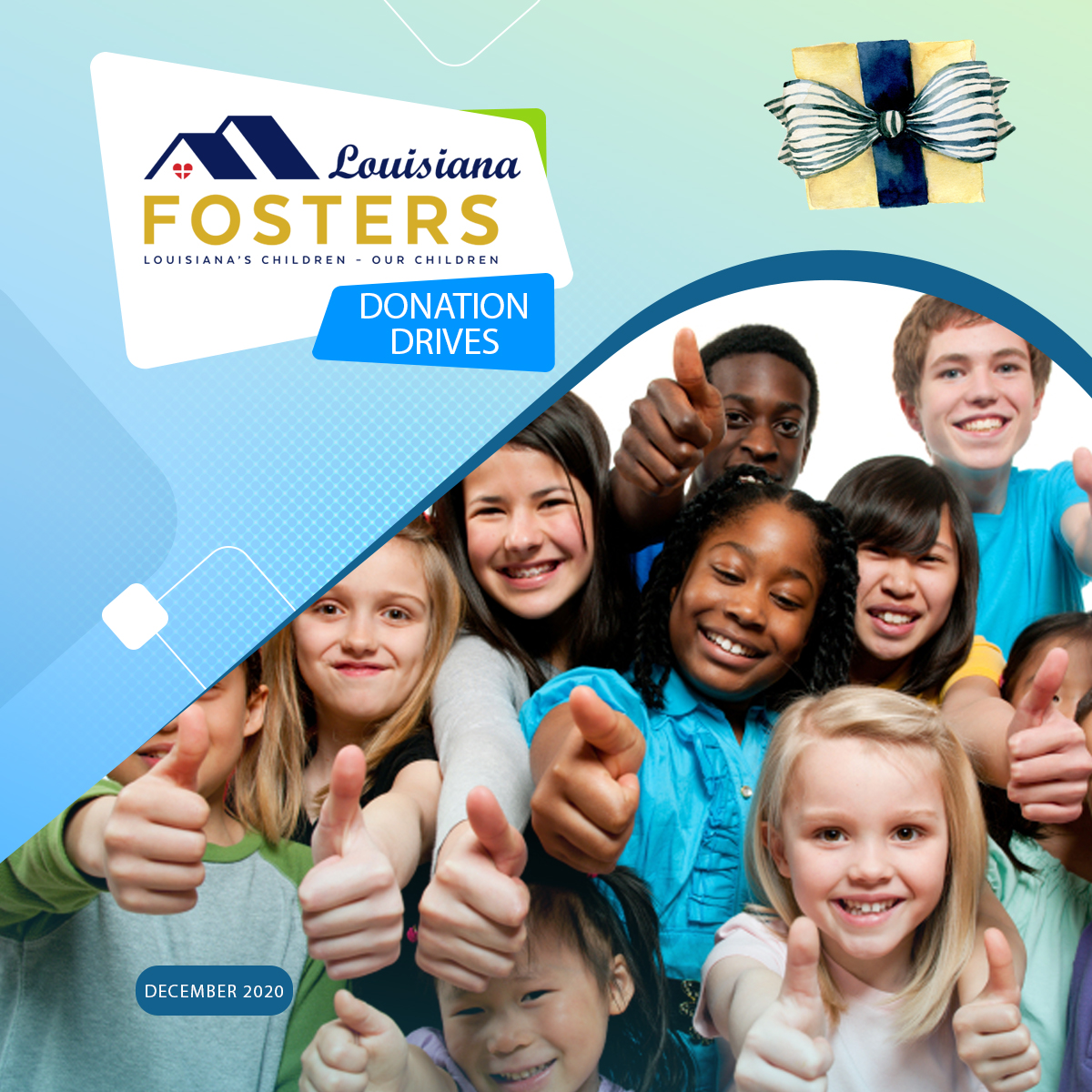 Louisiana Fosters – Partner Organizations for the Holiday Season