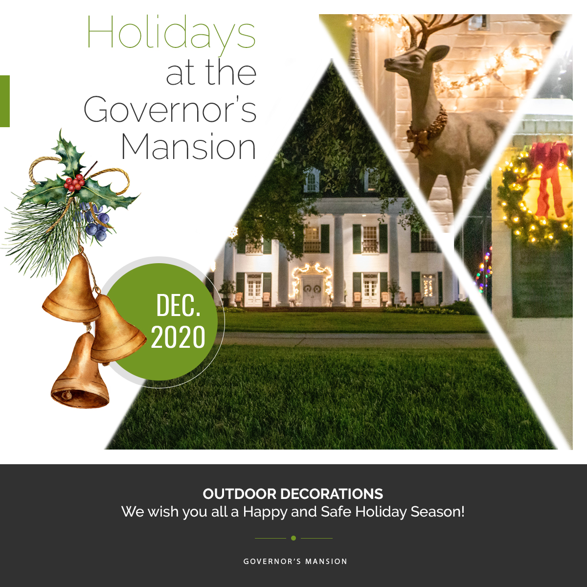 Holidays at the Governor's Mansion
