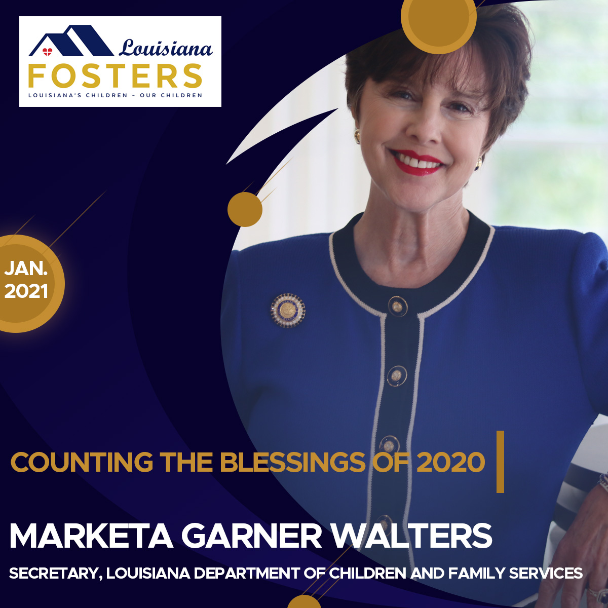 Louisiana Fosters – Counting the Blessings of 2020