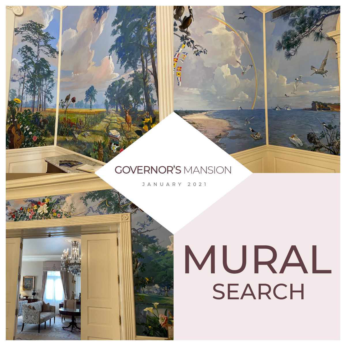 The Governor's Mansion Mural Search