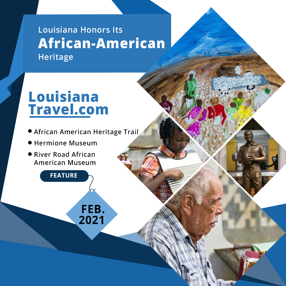 Louisiana Honors Its African-American Heritage