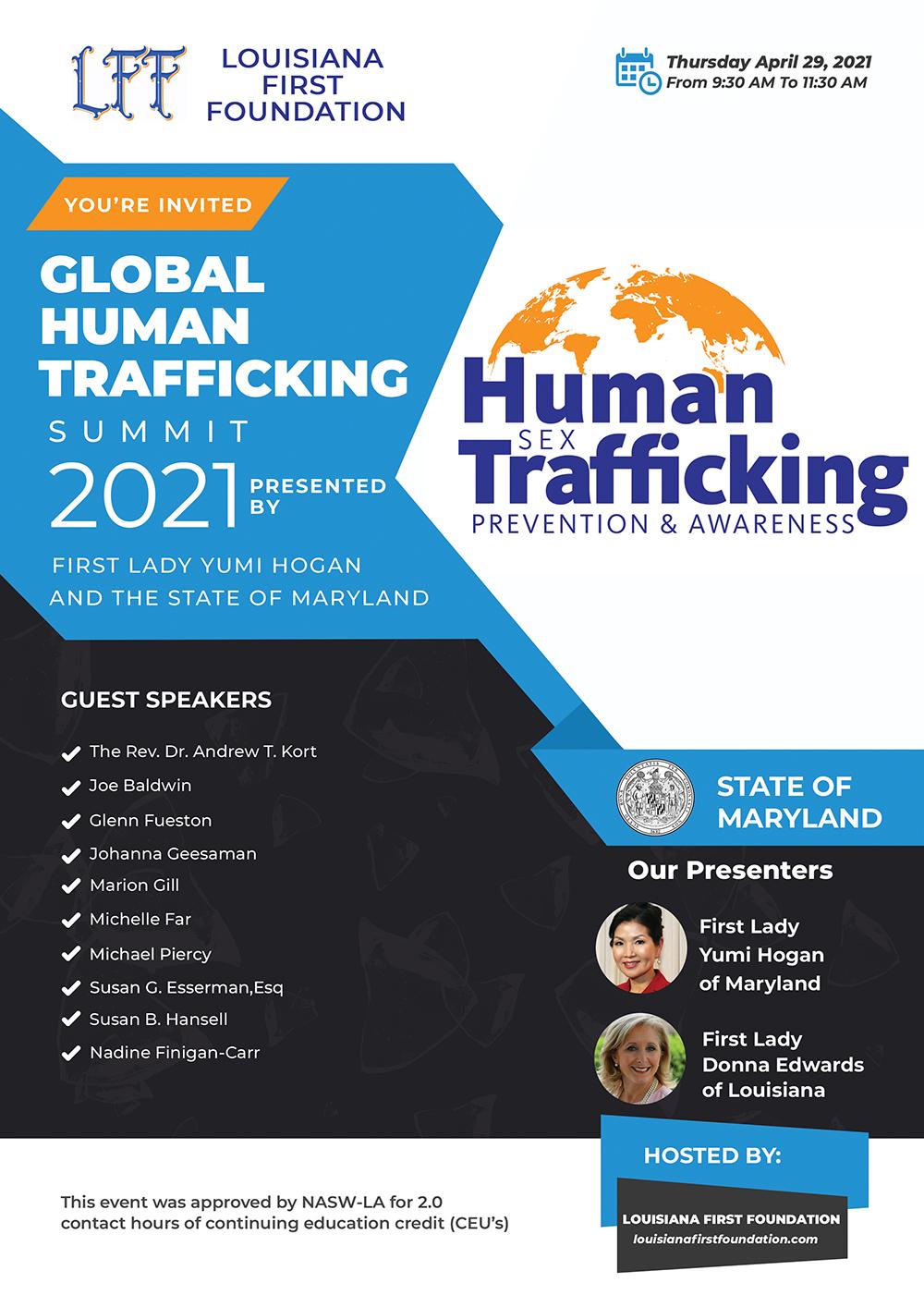 Global Human Trafficking Summit 2021 – Maryland