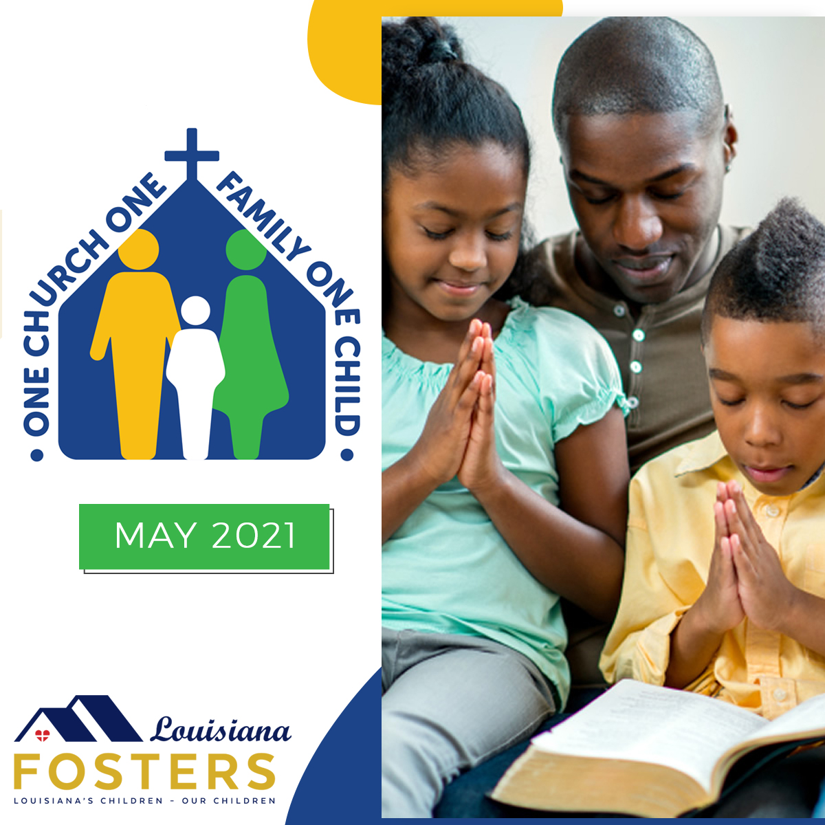 Louisiana Fosters – One Church One Family One Child